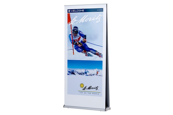 Rollupfix Deluxe Double | Beidseitiges Roll Up Banner