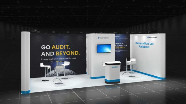 7x3m Reihenstand - Mobile Messestand